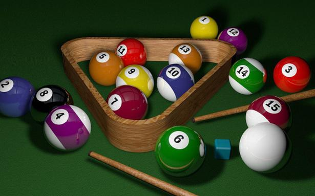 Pool Billard Spielen
