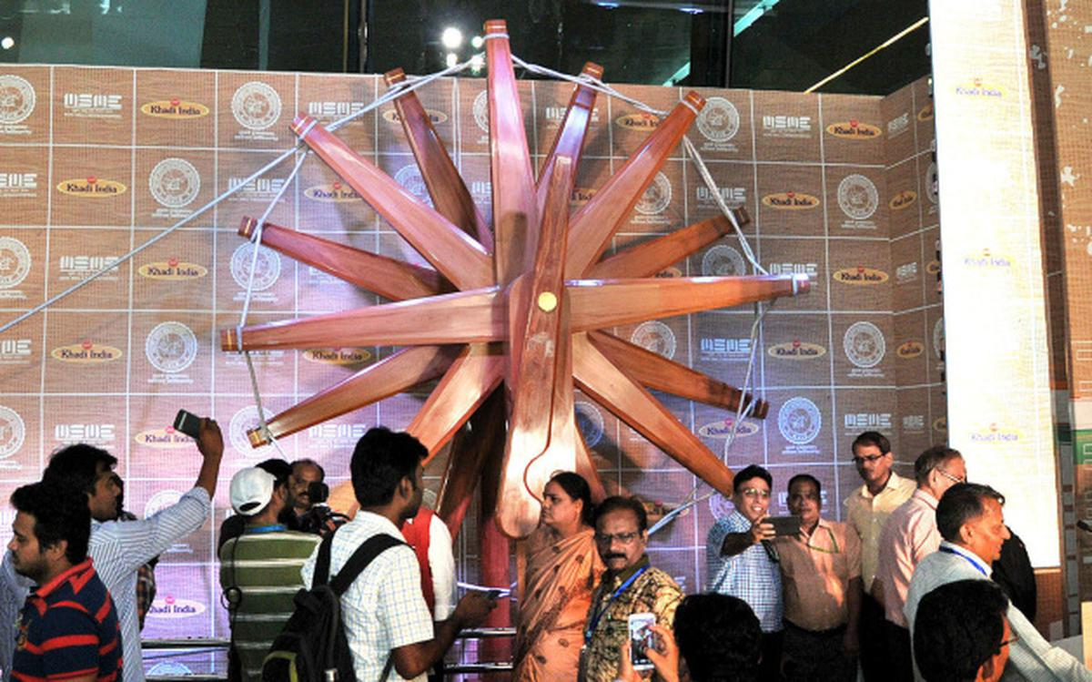 Coming soon: a steel charkha in the heart of the Capital