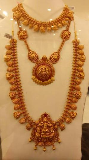Artistry jewellery show at Malabar showroom The Hindu