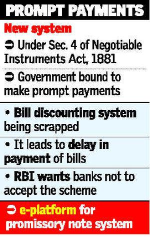 Govt To Issue Promissory Notes To Contractors  TodayS Paper  The
