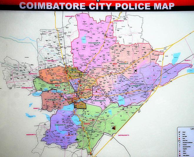 City police come up with new map The Hindu