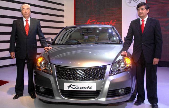Maruti Suzuki Launches Luxury Sedan Kizashi The Hindu