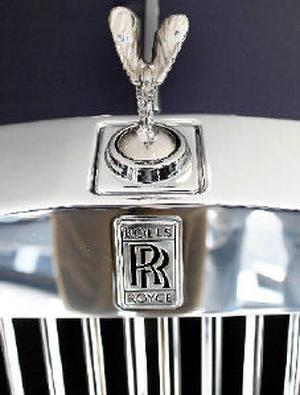 Rolls royce to launch phantom coupe business the hindu opulence a rolls royce phantom is displayed at the opening of a rolls royce motor aloadofball Choice Image