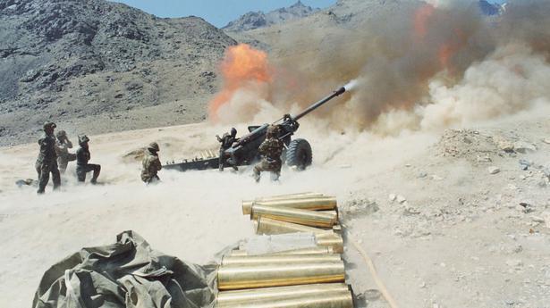 pakistan artillery