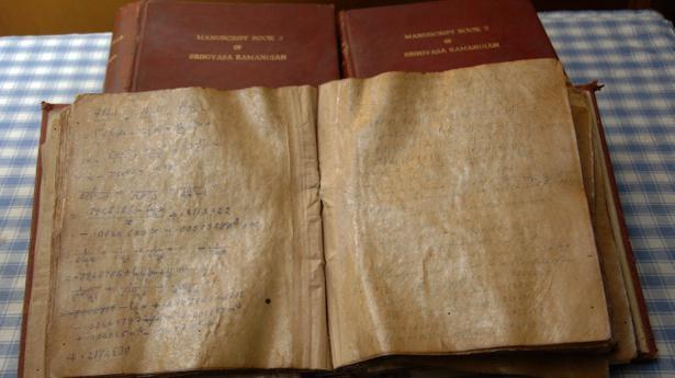 ผลการค้นหารูปภาพสำหรับ ramanujan and notebooks