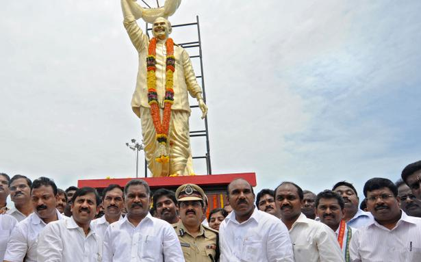 Image result for ysr statues