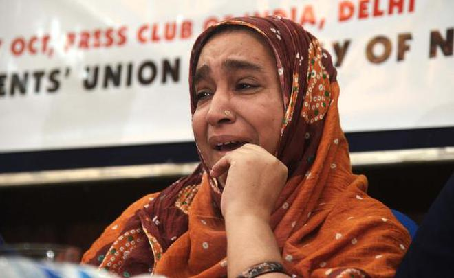 """We have lost all faith in JNU, says Najeeb's mother. """""""