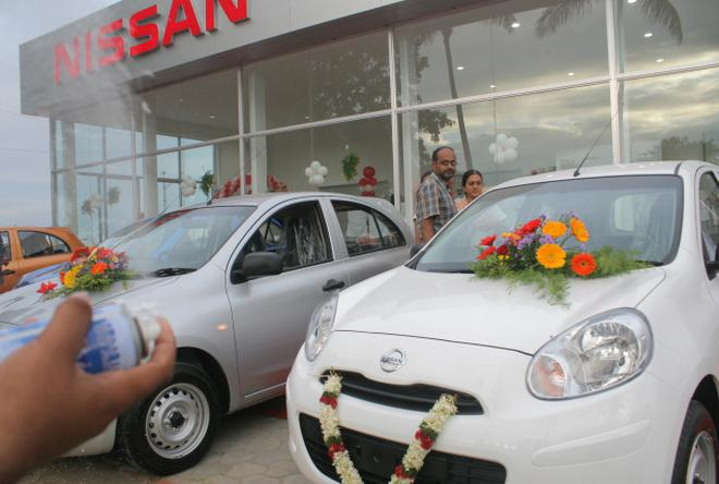 Micra pushes Nissan India July sales to 1,005 units - The Hindu