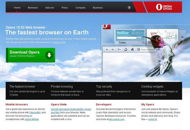 opera browser download windows 10