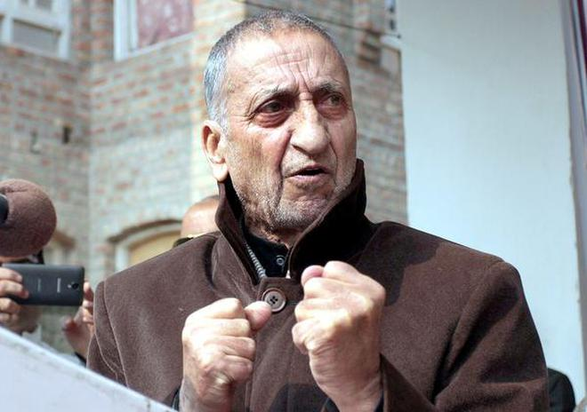 Seeking Results Former Hurriyat Chairman Abdul Gani Bhat Speaks After The Release Of His Book