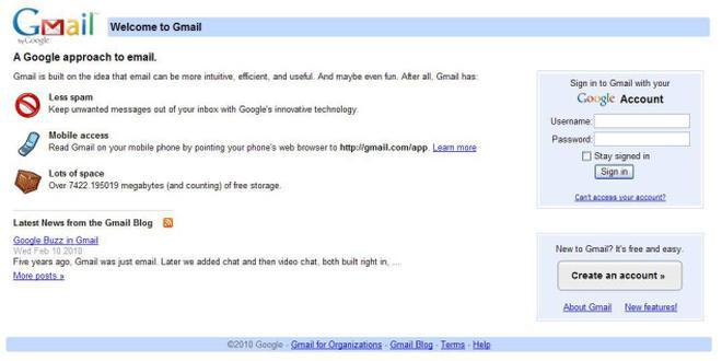 gmail chat login