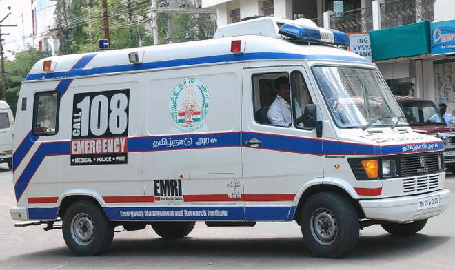 Ambulance Images free ambulance service for all tamil nadu districts - the hindu