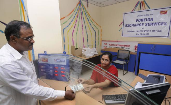 Foreign Exchange Service Launched At Triplicane Post Office