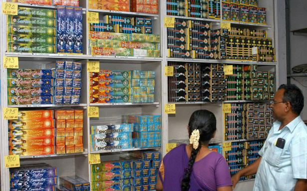 Pandiyan Cooperatives Offer Sales Of Fire Crackers The Hindu