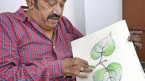 Actor Pandu, who designed AIADMK flag, no more