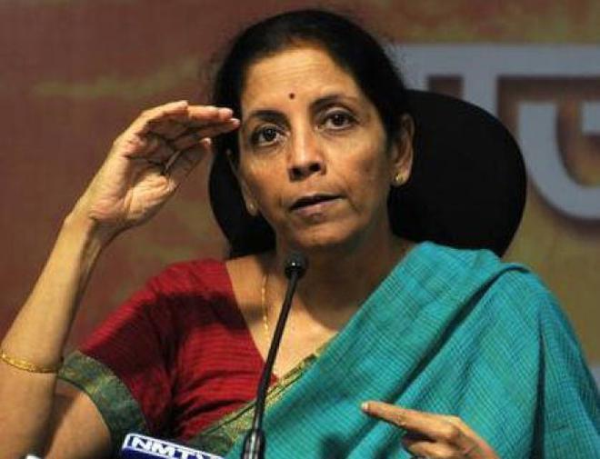 Defence Minister Nirmala Sitharaman. File