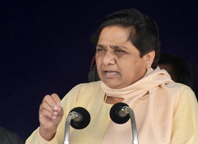 MAywati Resign From Rajya Sabha