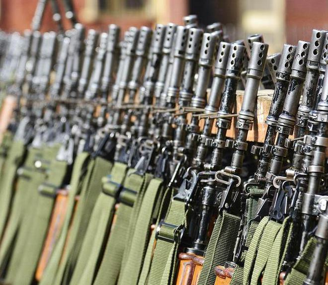 Image result for Army's search for basic assault rifle set to start again,
