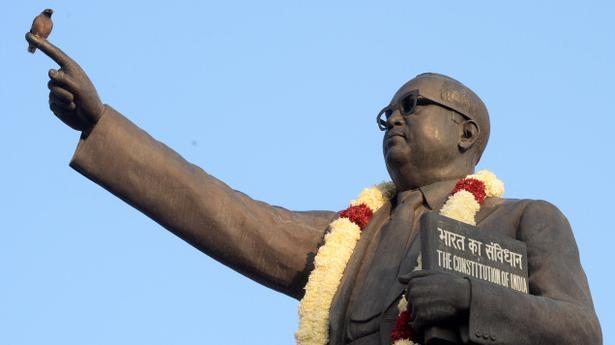 Cash-strapped Dalit couple enter wedlock before Ambedkar statue in Madhya Pradesh