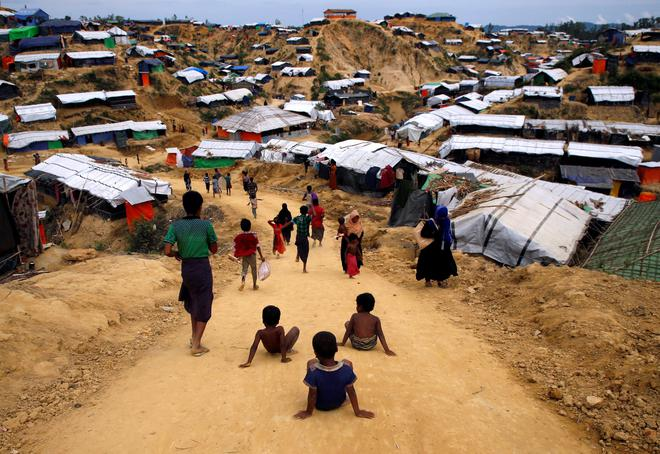 Myanmar troops charged with sexual assault on Rohingya