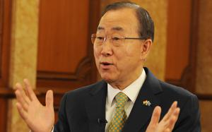 Ex-UN chief concerned over monsoon floods in Rohingya camps