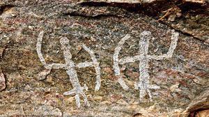 Rare pre-historic rock paintings identified near Viraliyur