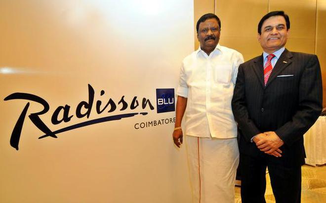 Raj Rana Chief Executive Officer South Asia Carlson Rezidor Hotel Group Right