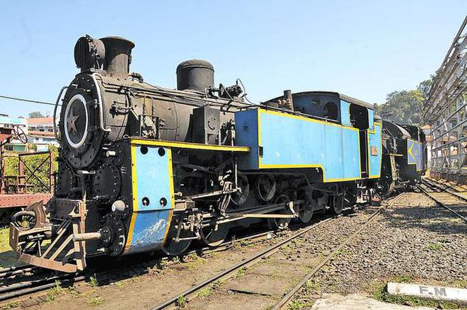 coal powered steam engines to be put up for public viewing the hindu