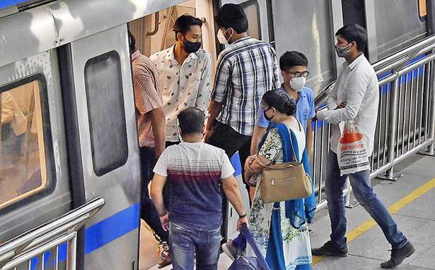 'Metro saw 23 lakh passenger journeys daily in Aug.'