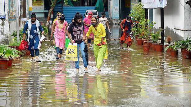 Delhi witnesses heaviest rainfall this monsoon
