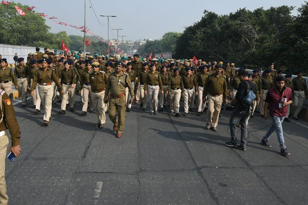 Over 3500 police personnel are pressed in providing security.