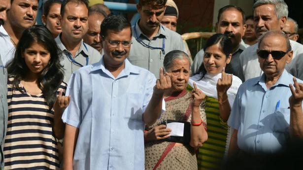 Delhi municipal elections: About 35% voter turnout till 2 p.m.