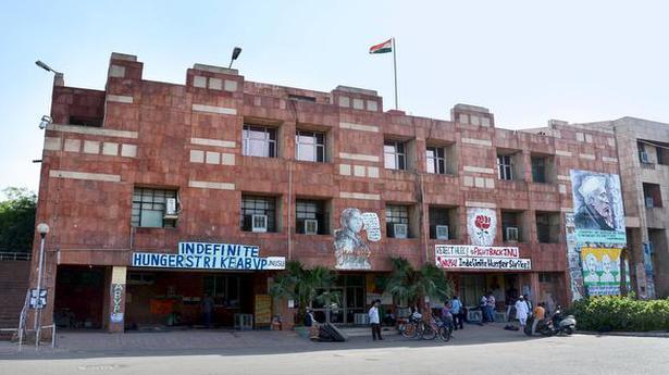 JNU Student Union presidential debate held