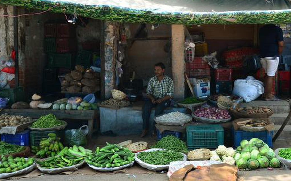 Prices of vegetables soar in Capital - The Hindu