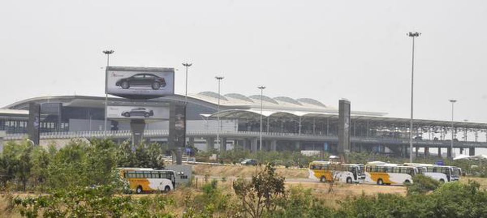 Confusion reigns in Telangana airport as flights get cancelled - The Hindu
