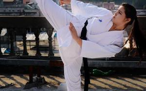City girl eyes gold at karate championship