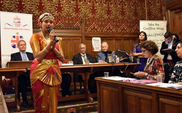 Indian dancer performs 7 times at British Parliament
