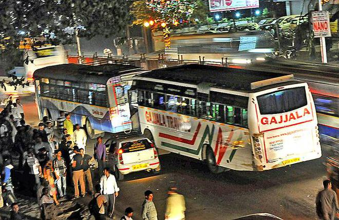 Private sleeper bus operators cry foul the hindu private sleeper buses come under the scanner of transport departments in telangana and andhra pradesh fandeluxe Images