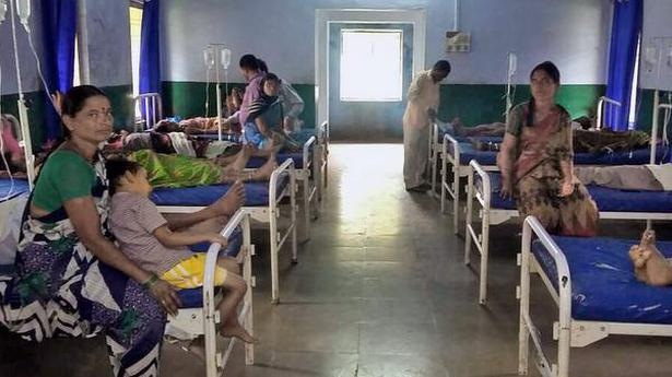 101 tribal people hospitalised