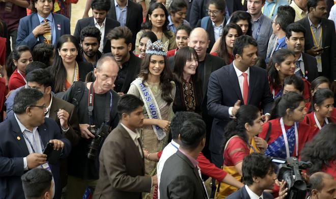 Miss World & Celebrities attended Second day GES in Hyderabad