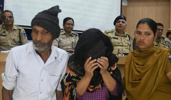 Image result for women went to police station with 5 months fetal