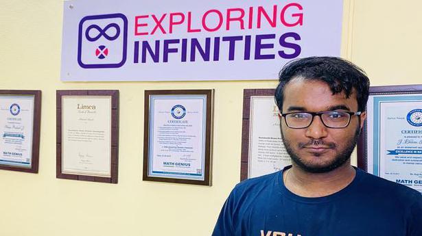 You can count on Neelakantha Bhanu Prakash, 'the world's fastest human calculator'