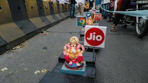 Did you spot the Ganesha train at Hyderabad's Tank Bund?
