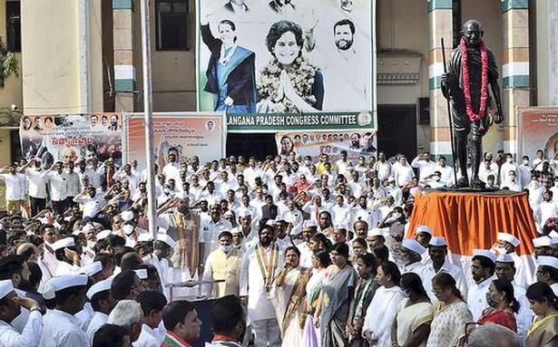 Congress MPs to raise 'corruption' issue in Parliament