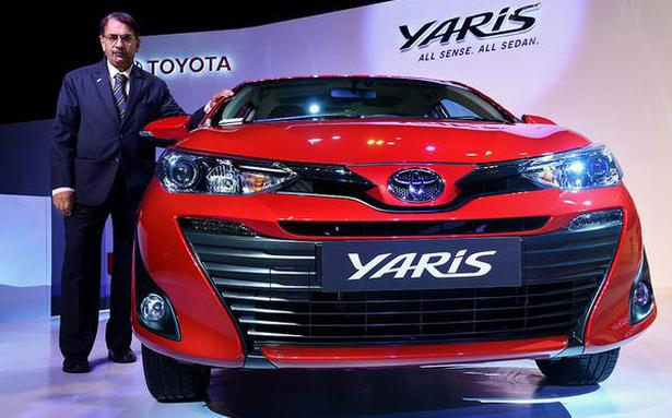 Toyota launches Yaris, upbeat on hybrid vehicles