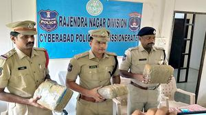 Six held, 132 kg of ganja seized