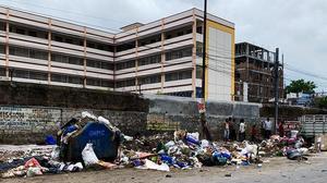 Mounting trash a big challenge for GHMC