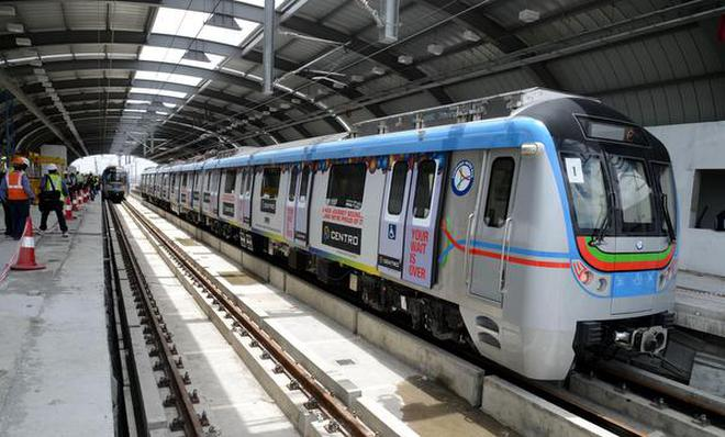tsavaari app for hyderabad metro rail passengers the hindu  tsavaari app for hyderabad metro rail passengers