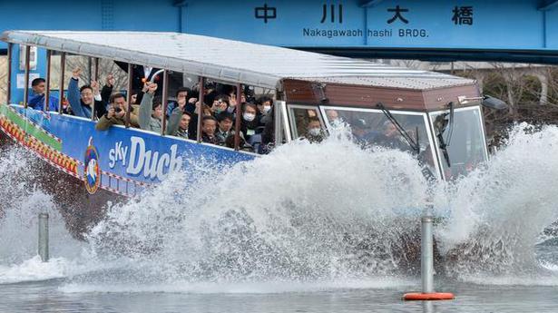 Tourism fraternity upbeat over amphibious bus project
