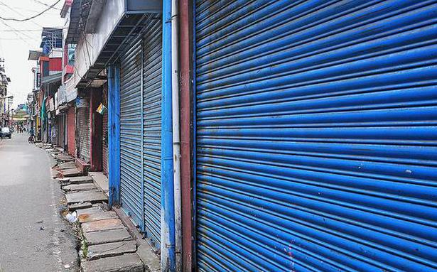 UDF hartal throws normal life out of gear in district